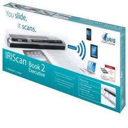 ** IRIScan Book 2 Executive - Scanner portatile con bluetooth