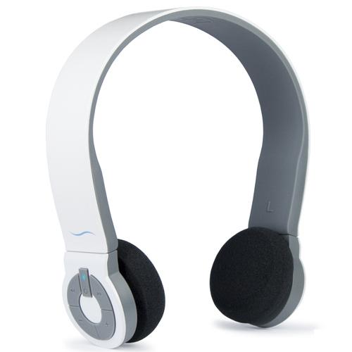 Image of Cuffia Bluetooth con microfono hi-Edo - Bianco/Grigio - hi-Fun
