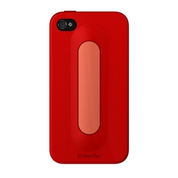 Xtrememac iPhone 4 e 4S Snap Stand - Cherry Bomb Red