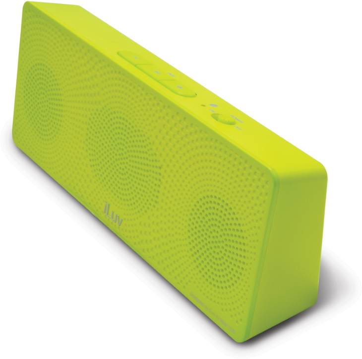 Offerta: iLuv MobiTour-Stereo Speaker Bluetooth portatile Verde
