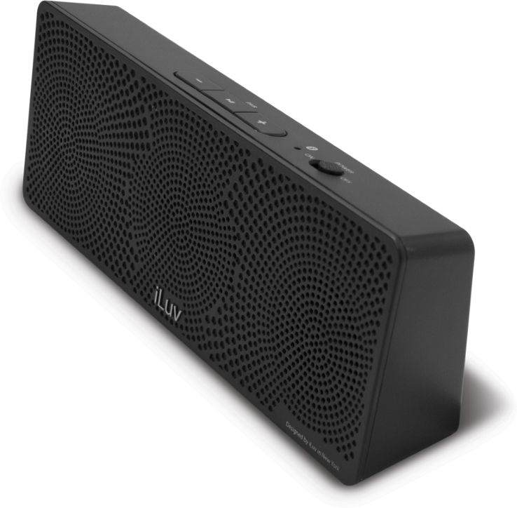 Offerta: iLuv MobiTour-Stereo Speaker Bluetooth portatile Nero
