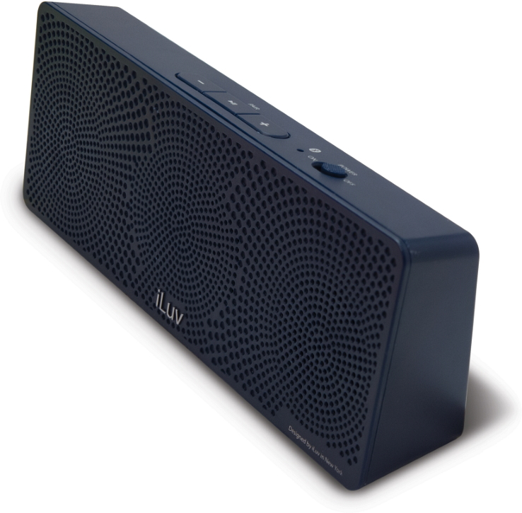 Offerta: iLuv MobiTour-Stereo Speaker Bluetooth portatile Blu