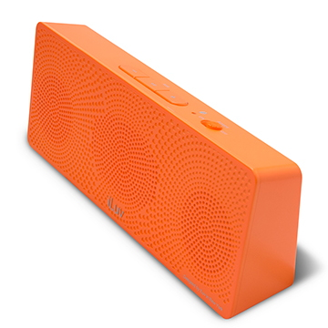Offerta: iLuv MobiTour-Stereo Speaker Bluetooth portatile Arancione