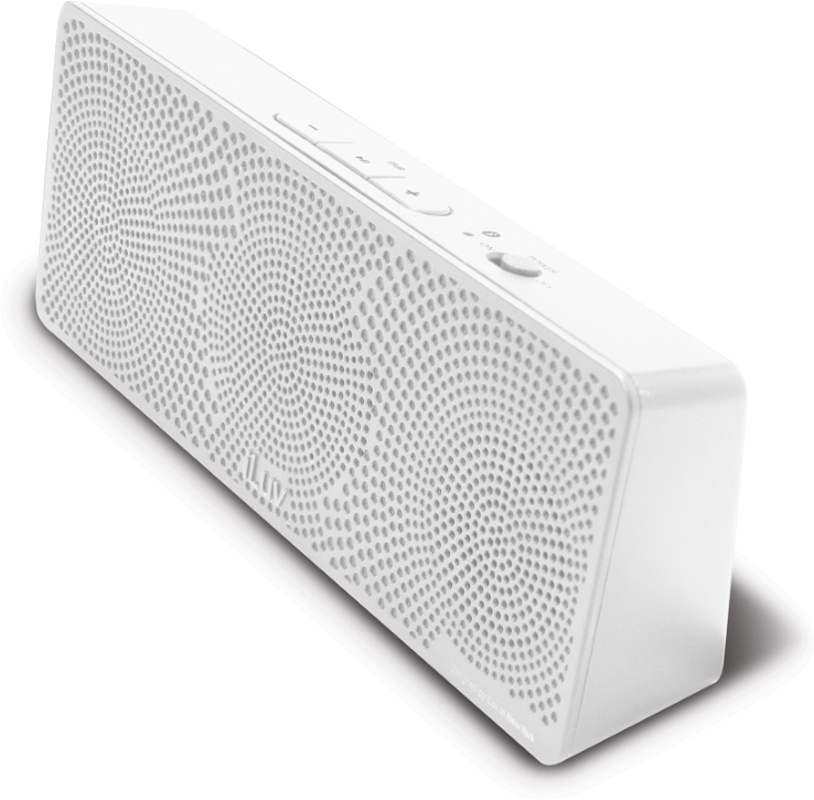 Offerta: iLuv MobiTour-Stereo Speaker Bluetooth portatile Bianco
