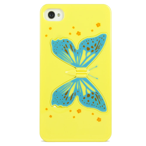 Image of Toy Cover Farfalla Gialla - iPhone 4/4S