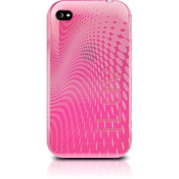 prezzo WAVE Custodia in plastica morbida per iPhone 4 rosa iLuv in offerta