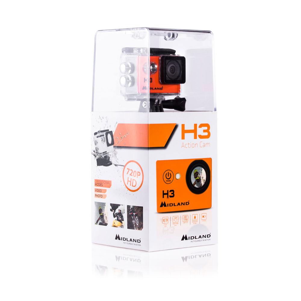 Midland H3 - Action camera HD thumb 0 thumb 1 thumb 2 thumb 3 thumb 4
