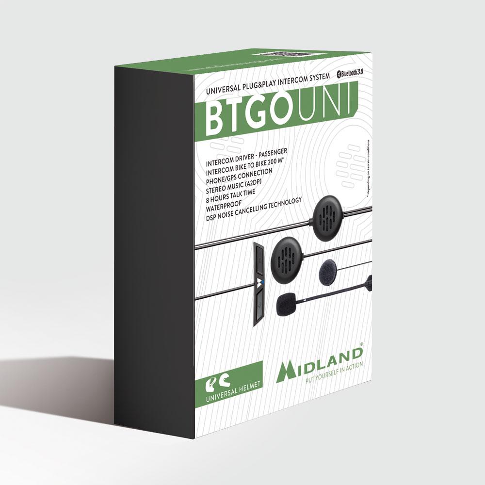 MIDLAND BTGO UNIVERSAL - INTERCOM PLUG&PLAY thumb 0 thumb 1 thumb 2