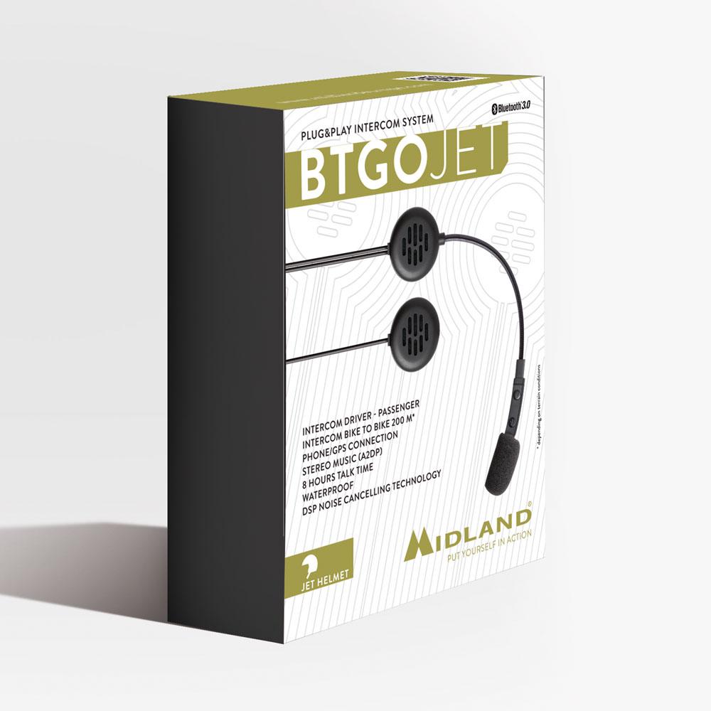 MIDLAND BTGO JET - INTERFONO PLUG & PLAY thumb 0 thumb 1 thumb 2