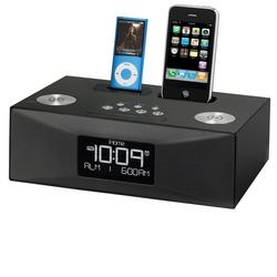 Image of iHome iP88 - Radiosveglia con doppio dock per iPhone e iPod