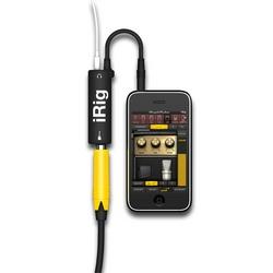 IK Multimedia iRig Sistema audio per chitarristi per iPhone/iPod/iPad Android simulazione di amplificatori