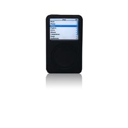 Custodia in Silicone per iPod Video 30 GB - Nera